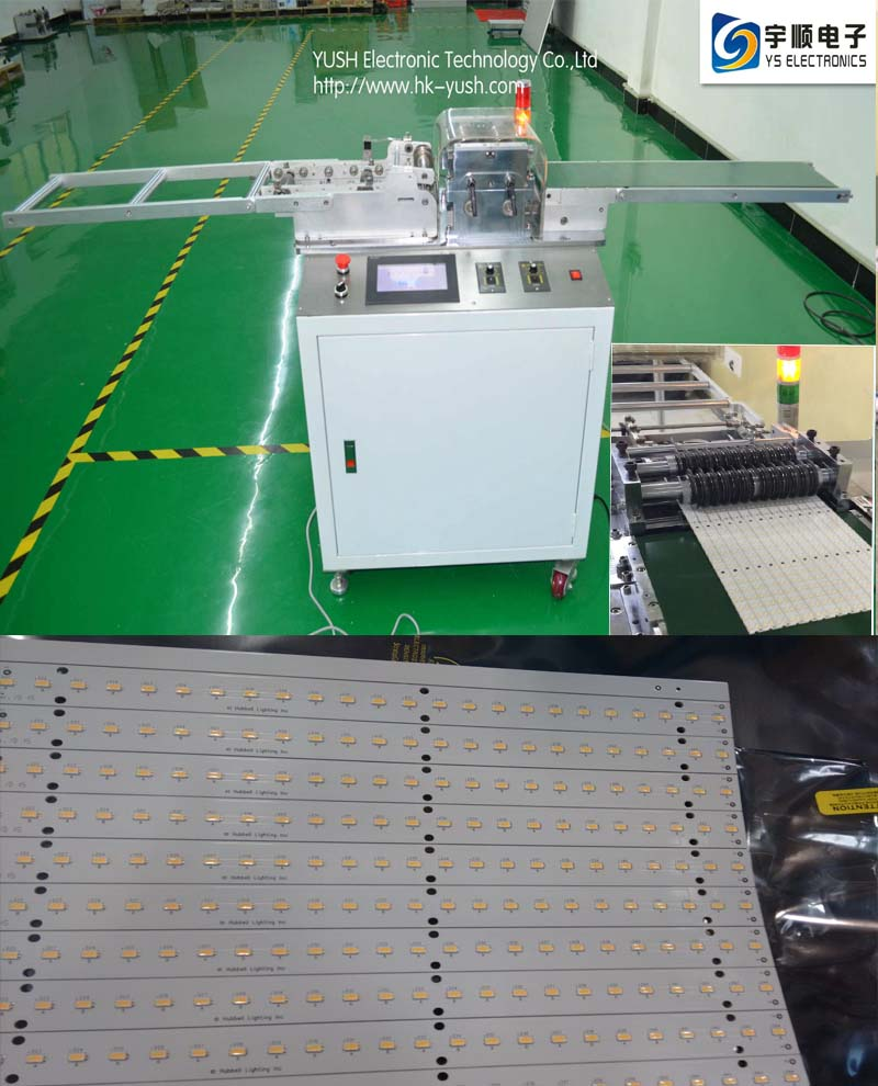 High Speed Steel PCB Depanelizer For 1.0-3.5mm Aluminium And PCB