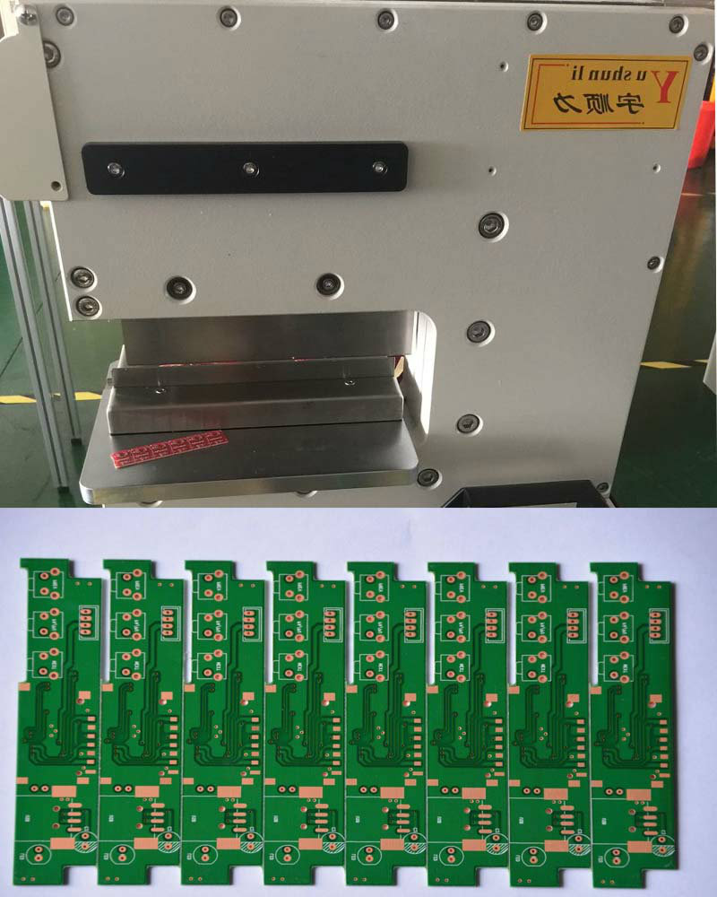 V Cut PCB Separator price|MCPCB Depaneling Machine For SMT Assembly Line image